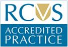 RCVS LOGO accredited Practice