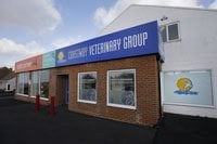 Coastway Vets Telscombe exterior, next to Pets Corner