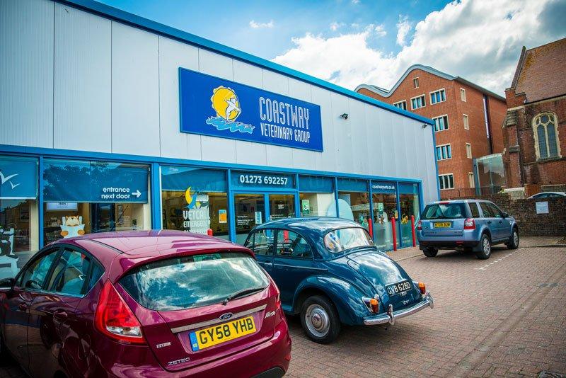 Coastway Vets Brighton Car Park